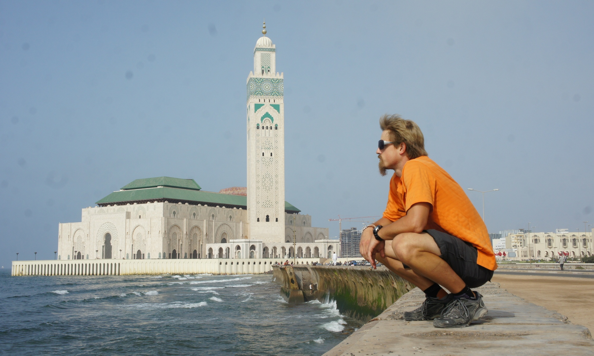 Chris in Casablanca