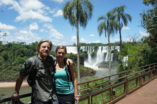 Me and Jennifer at Iguazú Falls