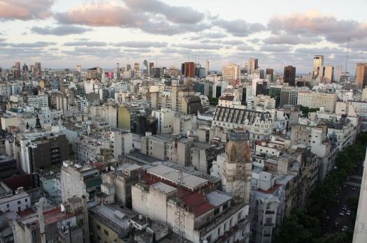 Buenos Aires from Palacio Barolo