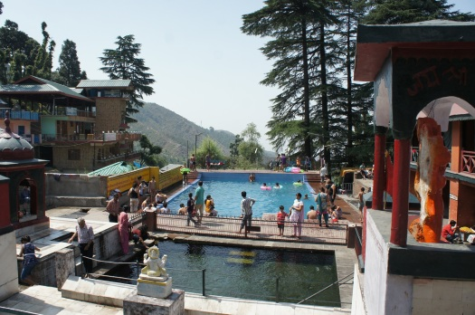 A public pool in McLeod Ganj
