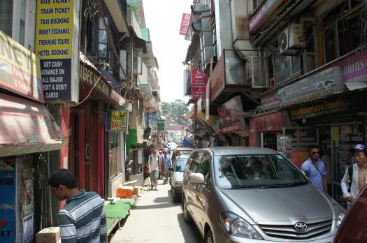 A street in McLeod Ganj
